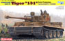 WW.II German Schwere Panzer Tiger I s.Pz.Abt.504 `131` Tunisia (Plastic model)