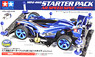 Mini 4WD Starter Pack AR Speed Type (Aero Avante) (Mini 4WD)