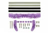 AR Chassis Brake Set (Purple) (Mini 4WD)
