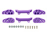 Low Friction Front Under Guard (Purple) (Mini 4WD)