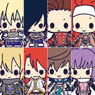 Rubber Strap Collection Tales of Friends Anniversary vol.1 8 pieces (Anime Toy)