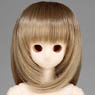 50cm Wig New Shoulder Length Hair 7-8inch (Ash Gold) (Fashion Doll)