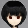 50cm Wig New Short Hair 8-9inch (Black) (Fashion Doll)