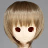 50cm Wig New Short Hair 8-9inch (Ash Gold) (Fashion Doll)