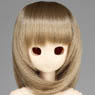 50cm Wig New Shoulder Length Hair 8-9inch (Ash Gold) (Fashion Doll)