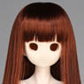 50cm Wig New Long Hair 8-9inch (Red Brown) (Fashion Doll)