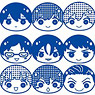 Free! -Eternal Summer- Square Stamp 10 pieces (Anime Toy)