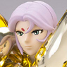 Saint Cloth Myth EX Aries Mu (God Cloth) w/Initial Release Bonus Item (PVC Figure)