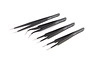 Ultra Fine Needle Shape Tweezers (4 pcs.) (Hobby Tool...