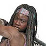 The Walking Dead TV Series/ Michonne 10inch Action Figure (Completed)