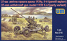 Russia 37mmK61 Early Anti-aircraft Cannon Type (Plastic model)
