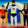 Batman 1966 Television Series/ 5.5 inch Bendable Figure 5PK (Completed)