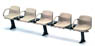 (1/12) EK-09 New Station Bench (Beige) (Model Train)