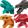 Honehone Zaurus x Monster Hunter 8 pieces (Shokugan)