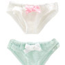 Picco D Ribbon Shorts A set (White, Green) (Fashion Doll)