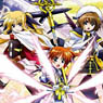 Bushiroad Rubber Mat Collection Vol.24 [Magical Girl Lyrical Nanoha The Movie 2nd A`s] (Anime Toy)