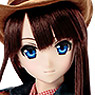 50cm Original Doll Happiness Clover Western Village Land / Yui (Hair Transplantation ver.) (Fashion Doll)