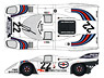 Martini917K 1971LM Decal Set (Decal)