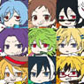 Servamp Pitacole Rubber Strap 10 pieces (Anime Toy)