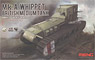 British Medium Tank Mk.A Whippet (Plastic model)