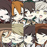 Bungo Stray Dogs Rubber Strap 8 pieces (Anime Toy)