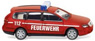(N) VW Passat B6 Variant Fire Engine (N Scale) (Model Train)