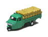 Three-wheeler Load Type w/Straw Rice Bag (Green) (Model Train)