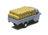 Three-wheeler Load Type w/Straw Rice Bag (Gray) (Model Train)