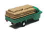 Three-wheeler Load Type w/Grain Storage Bag (Green) (Model Train)