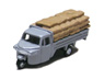 Three-wheeler Load Type w/Grain Storage Bag (Gray) (Model Train)