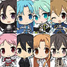 Sword Art Online II Puchikko Trading Metal Charm Strap 8 pieces (Anime Toy)