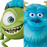 UDF Pixar Sulley & Mike (Completed)
