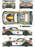 BMW Z4 GT3 Marc VDS Racing Car No.66-77 24h Spa 2014 Decal Set (Decal)