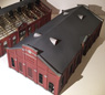 1/80 Old Maruyama Electrical Substation Building A Machine Room Paper Kit (Pre-colored Kit) (Model Train)