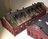 1/80 Old Maruyama Electrical Substation Building B Battery Room Paper Kit (Pre-colored Kit) (Model Train)