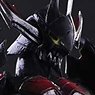 Monster Hunter X (Cross) Play Arts Kai Diabolos Equipment (Rage Series) (PVC Figure)