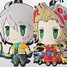 Final Fantasy Trading Rubber Strap Vol.5 6 pieces (Anime Toy)