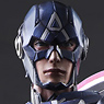 Marvel Universe Variant Play Arts Kai Captain America (PVC Figure)
