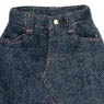 PNS Middle Denim Skirt (Indigo) (Fashion Doll)