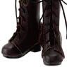 PNM 7 Hole Lace Up Boots (Brown) (Fashion Doll)