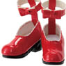 PNM Ankh Ribbon Strap Shoes (Red) (Fashion Doll)