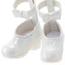 PNM Ankh Ribbon Strap Shoes (White) (Fashion Doll)