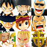 Anime Chara Heroes One Piece Dressrosa 2 15 Pieces (PVC Figure)