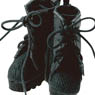 Picco D Military Combat Boots (Black) (Fashion Doll)