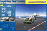 Tractor w/Crew for Royal Navy Aircraft Carrier Flight Deck (w/Tractor x2, Crew x4, Accessory) (Plastic model)