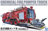 Chemical Fire Fighting Pump Car (Osaka Municipal Fire Department C6) (Model Car)