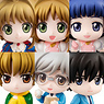 Petit Chara! Series Cardcaptor Sakura It`s Absolutely All Right 6 pieces (PVC Figure)