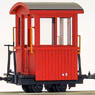 (HOe) Kiso Forest Railway Caboose II (Renewaled Product) (Unassembled Kit) (Model Train)