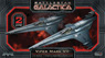 Battle Star Galactica Viper Mark VII (Set of 2) (Plastic model)