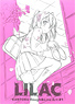 Lilac -Kantoku Rough & Line Art #1- (Art Book)